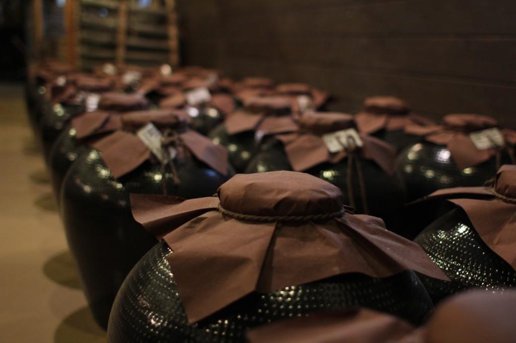 aging pots fukano