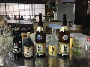 hayashi shochu distillery lineup